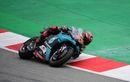 Hasil Balapan MotoGP Catalunya 2020: Fabio Quartararo Memimpin, Pembalap Suzuki Double Podium,  Valentino Rossi Telan Kenyataan Pahit