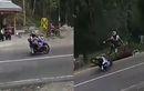 Viral Video Pengendara Yamaha R25 Gagal Cornering di Tikungan Cemoro Kandang, Coba Tebak Masuk High Side atau Low Side Crash?