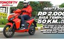 Video GESITS Motor Listrik Buatan Indonesia, Test Ride Kelebihan dan Kekurangan Untuk Harian