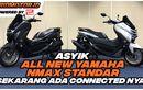 Keren, All New NMAX 155 Connected Siap Mengaspal Tambahan FiturnyaMenggiurkan