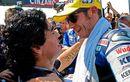 Inilah Awal Mula Valentino Rossi Bertemu Dengan Diego Maradona Secara Langsung