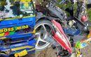 Honda BeAT Bonceng Tiga Ambyar, Bodi Pecah Hantam Truk, 2 Pria Dan 1 Wanita Tewas