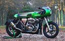 Harley-Davidson Sportster Tampil Unik Berubah Jadi Cafe Racer Hijau