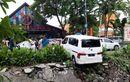 Nissan Evalia Nyelonong Nyemplung Kali, Ditinggal Pemilik Makan Siang, Mundur Perlahan