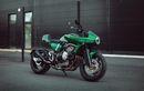 Honda CB600F Jadi Cafe Racer, Ubahannya Minimalis, Kelir Hijau Bikin Beda