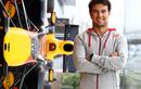 Sergio Perez Memulai Hari Pertamanya Sebagai Pembalap Tim Red Bull Racing