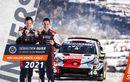 Pereli Tim Toyota Sebastien Ogier Pecahkan Rekor Menang di Reli Monte Carlo 2021