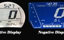 Ada Panel Instrumen Digital Motor Negative Display dan Positive Display, Apa Bedanya?