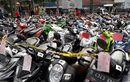 Ninja 150 RR, NMAX Sampai BeAT Parkir di Polres Bogor, Total 124 Unit, 60 Orang Diborgol