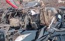 Honda BeAT Tak Berbentuk, Pesepeda Onthel Tewas Disambar, Ulah Avanza Hilang Kendali