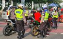 Pasca Insiden Bikers Dihadang Paspampres, Ratusan Motor Kena Razia di Monas