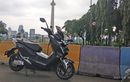 Riding 143,6 km dengan Motor Listrik E-United T1800, Sekali Ganti Baterai