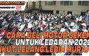 Video Lelang Motor Online Sambut Lebaran 2021, Harganya Murah