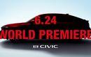 Setelah Teaser, Kini Honda Juga Bagikan Jadwal Peluncuran Civic Hatchback Terbaru