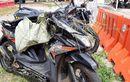 Honda BeAT Amburadul, Tergeletak di Kolong Truk Tangki, Pengendara Berpulang