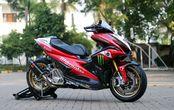 Terinspirasi dari WSBK, Tampilan Yamaha Aerox Ini Jadi Makin Gambot Pakai Pelek XMAX