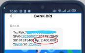 Mendadak Ada SMS Dapat Bantuan Rp 2,4 Juta dari BRI, Begini Cara Mencairkan Dananya, Gampang Banget!