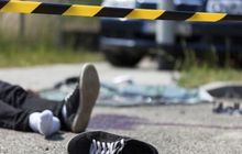 Palembang Geger, Seorang pemuda Tewas Bersimbah Darah Jatuh Dari Motor, Ternyata Gara-Gara Ini