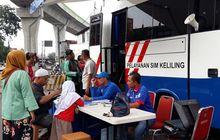 Lokasi Layanan SIM Keliling di Jakarta Senin 3 Agustus 2020, Cuma Bayar Rp 75 Ribu Langsung Beres