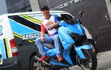 Sadis, Motor Yamaha XMAX Boreup 335 cc, Torsi Setara Moge 600 cc!