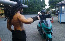 Ngeri, Begal Motor Sadis Bacok Kepala Mahasiswi Hanya 100 Meter dari Pos Polisi