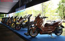 Bekasi Membara, 45 Motor Modifikasi Adu Keren di Event Customaxi Yamaha, Hadiahnya NMAX dan Aerox