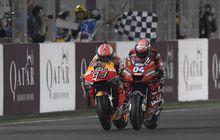 Gak Mau Lengah, Biar Kedodoran di Tes Pramusim MotoGP 2020, Andrea Dovizioso Waspadai Terus Marc Marquez