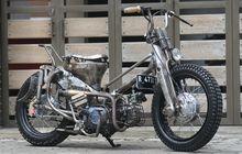 Bikin Gaya Rat Bike Tapi Mulus, Nah Ini Motornya Bro Honda C-70