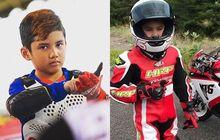 Mantap, Selain Motocross Rupanya Anak Dewa Road Race Ini Latihan Balap Aspal