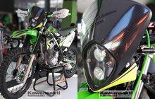 Depan Sampai Bikin Pangling, Ini Galaknya Modifikasi Motor Trail Kawasaki KLX230