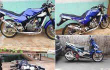 Gokil! Kawasaki Ninja 150 Victor dan Yamaha Nouvo Z Ditukar Honda PCX 150, Ada Yang Mau?