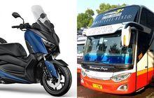 Ngirim Motor Yamaha XMAX Bisa Pakai Jasa Bus, Ditaruh Dimana Ya?