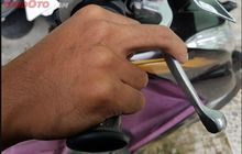 Bikin Pengereman Jadi Kurang Pakem, Ini Penyebab Tuas Rem Motor Terasa Keras Saat Ditekan