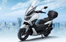 Pakai Windshield Touring dan Box, Segini Harga Yamaha NMAX Comfort 2019