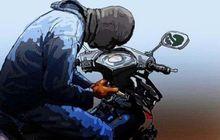 Maling Motor Yang Aneh, Pasutri Dengan Bersama Bayi 4 Bulan Gondol Honda Supra X Pakai Kunci Leter Y
