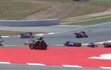 Puas Enggak Jawaban Jorge Lorenzo yang Bikin Valentino Rossi Jatuh di MotoGP Catalunya?