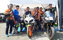 Keren, Tim Balap Komunitas dari YROI Sabet Dua Podium di Idemitsu Moto Race 2019