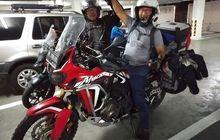 Mantap, Bikers Tertua di Indonesia Keliling Asia Naik Motor, Sayang Terkendala Ini di India