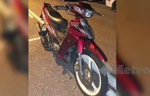 Maling Aneh, Sukses Bawa Kabur Motor Yamaha 125Z, Pelaku Malah Ninggalin Mobil Buat Korban