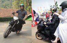 Naik Kawasaki D-Tracker 150 Dan Yamaha NMAX, Ridawan Kamil Keren Naik Yang Mana?