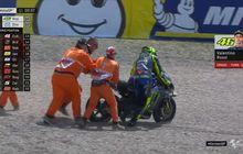 Walaupun Hasilnya Buruk, Valentino Rossi Tetap Pertahankan Kru Tim MotoGP Saat Ini