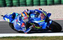Hasil MotoGP Inggris 2019, Marquez Dibabat Rins, Rossi Berusaha Podium