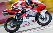 Keren Abis! Pembalap Indonesia Sembuh Cedera, Langsung Tembus 10 Besar CEV Moto3 Aragon