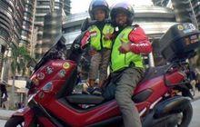 Naik Yamaha NMAX Modifikasi, Pria Ini Riding Bersama Anak ke Makkah Untuk Tunaikan Ibadah Haji