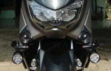 Tampilan Motor Yamaha NMAX Makin Kekar, Besi Pipa Melilit di Bodi, Modalnya Cukup Segini