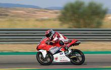 Tampil Jempolan! Pembalap Indonesia Mario SA di CEV Moto3 Aragon Dapat Apresiasi