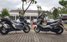 Adu Ganteng Honda ADV150 Lawan Yamaha NMAX Difoto Bareng, Keren Mana?