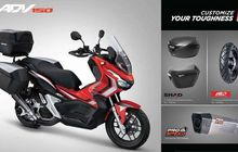 Pilihan Aksesoris Honda ADV150 Sudah Muncul, Dari Box Sampai Knalpot