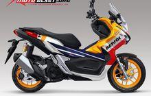 Baru Juga Meluncur, Decal Buat Skutik Adventure Honda ADV 150 Sudah Beredar Aja Nih!