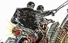 Polisi Berhasil Bekuk 7 Anggota Geng Motor Akram Yang Bacok 4 Remaja dan Rampas HP